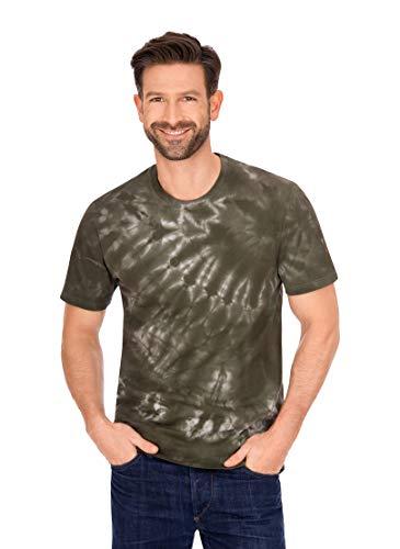 Trigema 637271220 Camiseta, Caqui, XXXL para Hombre