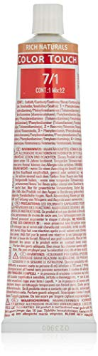 Wella Color Touch 7/ 1 mittelblond-asch, 2er Pack, (2x 60 ml)