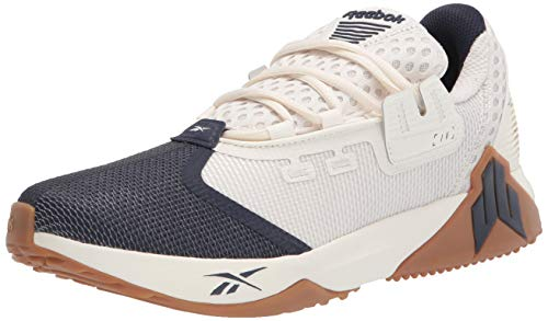 Reebok Men's JJ IV Cross Trainer, Chalk/Vector Navy, 7
