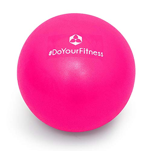 #DoYourFitness x World Fitness Mini Pilates Ball »Balle« Ø 28 - Gymnastikball für Beckenübungen, Stärkung der Bauchmuskulatur und partielle Massage - Pink