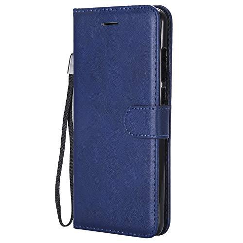 Hülle für Xiaomi Redmi 5Plus Hülle Handyhülle [Standfunktion] [Kartenfach] Tasche Flip Hülle Cover Etui Schutzhülle lederhülle flip case für Xiaomi Redmi 5 Plus - DEKT051889 Blau
