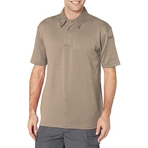 Propper T-Shirt Polo Classique à Manches Longues I.C.E pour Homme - Brun argenté, Taille M