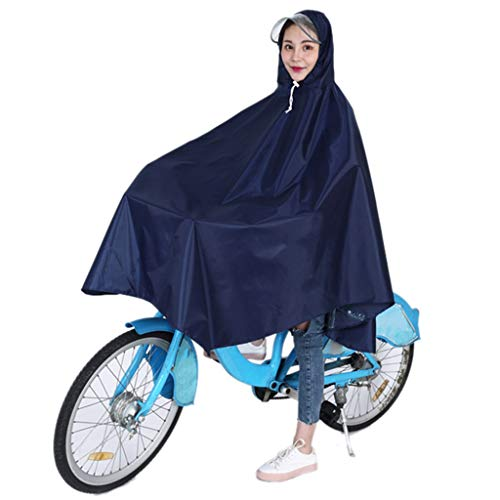 qwert Waterdichte Regen Poncho Bike Fiets Regenjas Capes Lichtgewicht Compact Herbruikbaar voor Mannen Vrouwen Volwassenen, Draagbaar, opvouwbaar