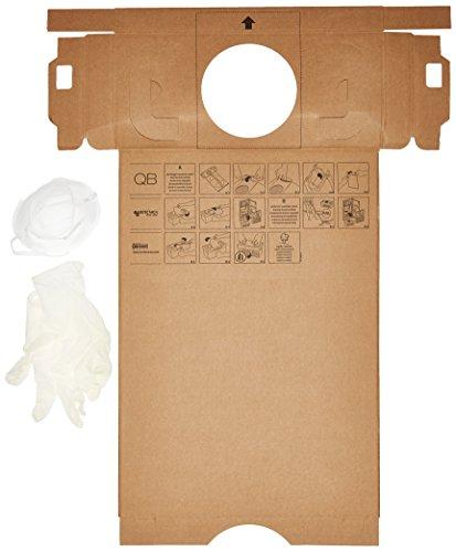 aertecnica série cm814q Boîte Poudre en carton écologique pour centrale aspirante QB Q200