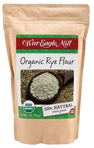 War Eagle Mill Rye Flour, Organic and non-GMO (2 lbs)