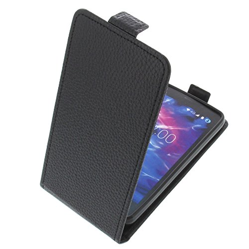 foto-kontor Tasche für MEDION Life E4504 Smartphone Flipstyle Schutz Hülle schwarz