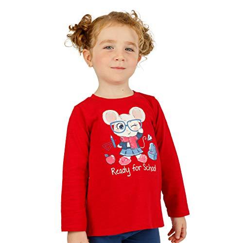 Top baby-meisjes carpinon shirt met lange mouwen