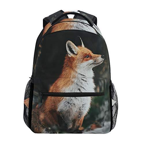 Bello zaino della scuola della volpe rossa per la borsa di viaggio dei bambini dei ragazzi delle ragazze dei ragazzi