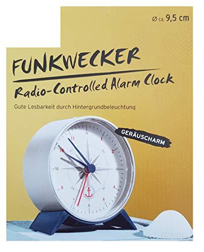 Tchibo TCM Funk Wecker Funkwecker mit Beleuchtung