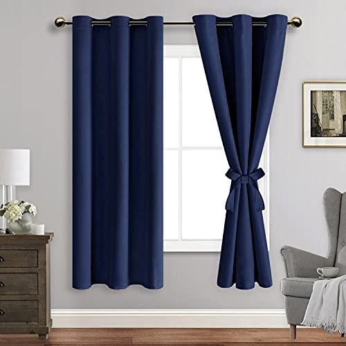 ROSETTE Blackout Curtains with T...
