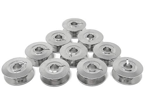 10 Metall Spulen für Pfaff Nähmaschine 230/260 / 262/360 / 362