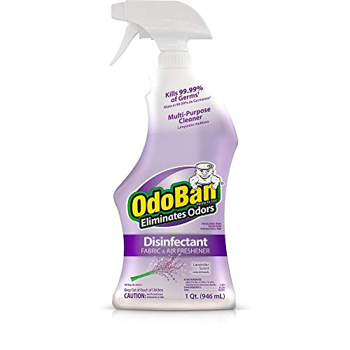 OdoBan Disinfectant Odor Eliminator and All Purpose Cleaner, 32 oz Spray and 1/2 Gallon Concentrate, Original Eucalyptus