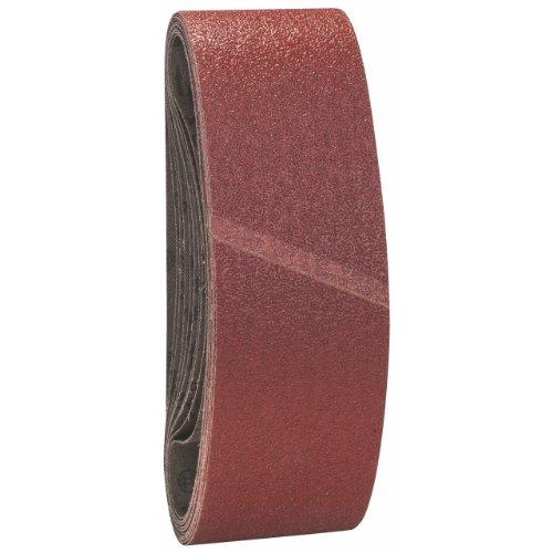 Bosch Professional Schleifband für Bandschleifer Holz und Farbe Best for Wood and Paint (10 Stück, Körnung 40, X440)