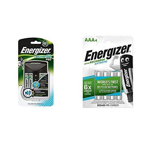 Energizer 639837 - Cargador 4HR6, 2000 mAh + HR03 - Pack de...