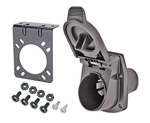 Reese Towpower 8536511 Professional 7-Way Blade Plug-In Vehicle End Wiring Kit