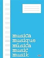 Quaderno Di Musica: Block, Cahier De Musique