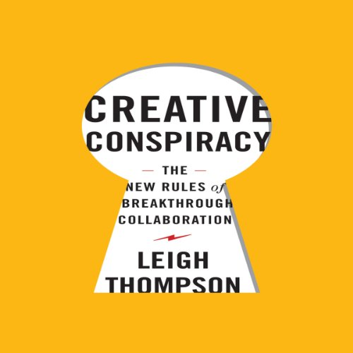 Creative Conspiracy audiobook cover art
