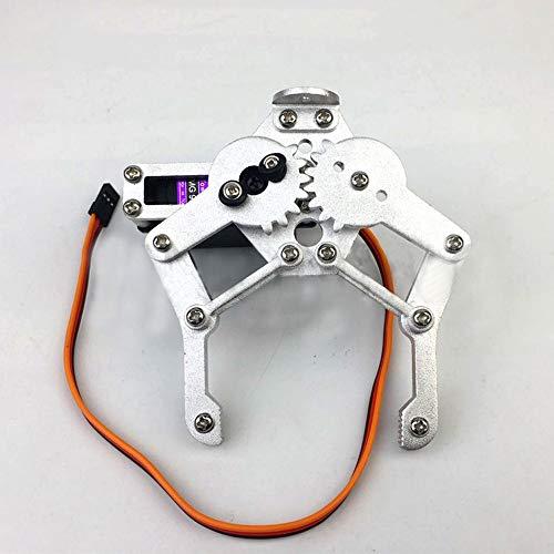 TMIL Mechanische Kralle Metall Mechanische Arm Greifer Mit MG996R Servo-Roboter, Kompatibel Mit MG995 SG5010, Für Arduino Lernen