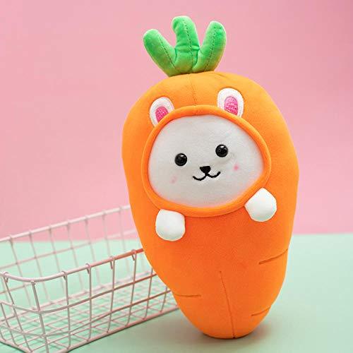 cfdnmoe 26Cm Simulation Vegetable Pillow Cushion Vegetable Plush DollsBroccoli Radish Carrot Chicken Legs Plush Toy Creative Home Gift-4_26Cm