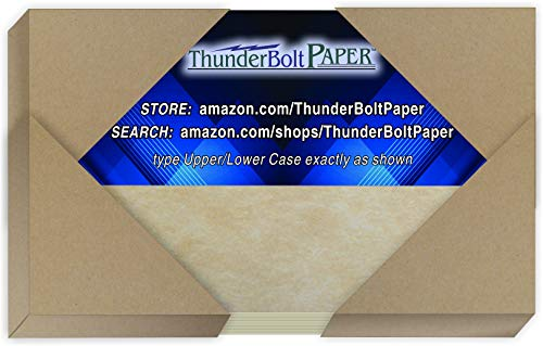 """250 Old Age Parchment 65lb Cover Paper Sheets 3 X 5 Inches Cardstock Weight Colored Sheets 3"""" X 5"""" (3X5 Inches) Index