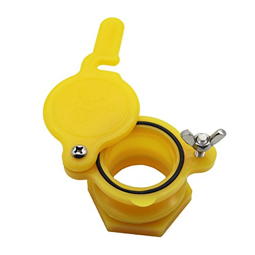 adhere to Fly 1 Honey Gate Valve, Extractor Tap Apiculture Abeille tenir équipement