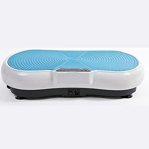 Fnho Plataforma Vibratoria 3D para,Plataforma vibración para Fitness y,Máquina de Adelgazamiento para moldear el Cuerpo, máquina de batido de pie-G