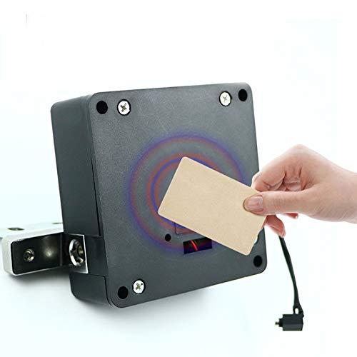 Cerradura electrónica para armario oculta, juego de bricolaje, RFID, cerradura inteligente para cajones de madera, cajones o zapateros