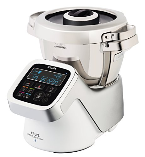 Krups IPrep & Cook XL Gourmet multifunción Robot de cocina con función de cocción y Bluetooth,...