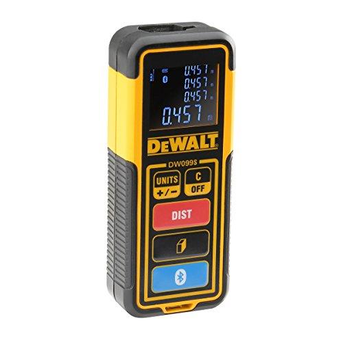 DeWALT DW099S-XJ Laserdistanzmesser DW099S 30m, Schwarz/Gelb, 30 M