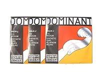 バイオリン弦 Thomastik Dominant/ドミナント弦 1/2サイズ用 ADG線セット No.131 A線+No.132 D線+No.133 G線 1/2セット