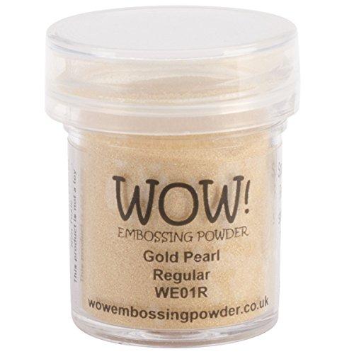 wow Gold Pearl Regular Embossing-Puder, Mehrfarbig