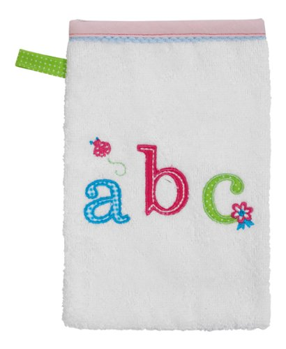 Bébé-jou Gant de Toilette ABC Rose Clair