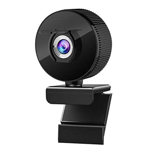 wolf guard USB007 Webcam 1080P, mit digitalem Stereo-Mikrofon, Plug-and-Play, USB-Netc-Kamera für Laptop, Zoom,...