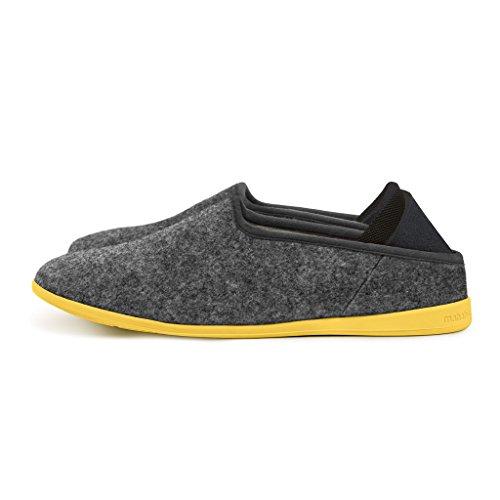 mahabis Classic 2 Slippers - larvik Dark Grey with Skane...