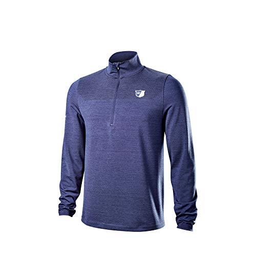 Wilson Staff Hombre Camiseta térmica de golf, STAFF MODEL THERMAL TECH, Poliéster/Licra,...