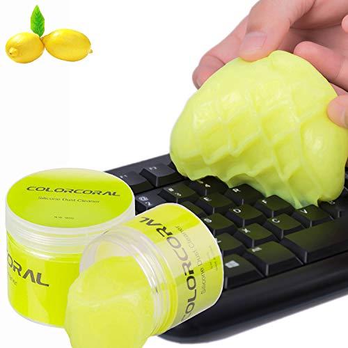 Pulizia Gel ColorCoral Universal Dust Keyboard Cleaner per PC Tablet Laptop Tastiere, Prese d'aria, Telecamere, Stampanti, Calcolatrici, Cellulari, Altoparlanti, Schermi e altre superf
