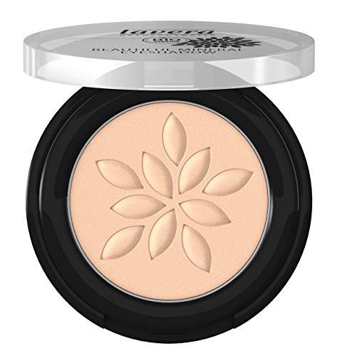 lavera Beautiful Mineral Eyeshadow -Matt'n Biscuit 31- Lidschatten ∙ Traumhaft sanfte Textur ∙ Vegan Naturkosmetik Natural Make-up Bio Pflanzenwirkstoffe 100% natürlich 3er Pack (3x 2 g)