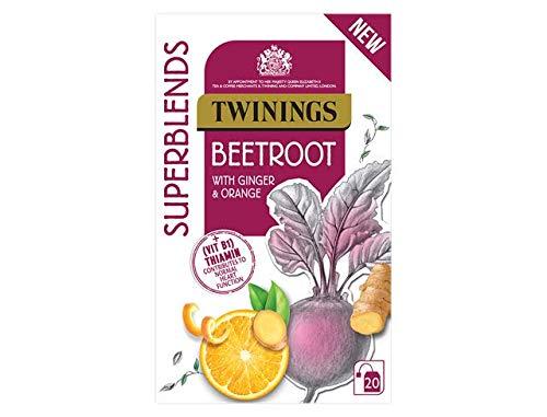 Beetroot Ginger Orange Twinings Superblend Infusion Tea 20 Envelopes
