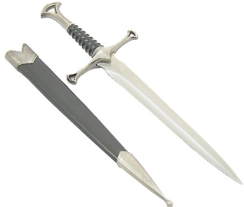 Lastworld 13' Collectible Mongolian Style Dagger with Sheath Good Quality