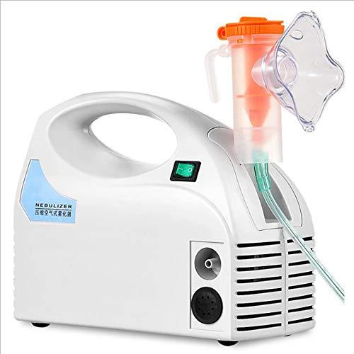 TX Eléctrico Nebulizador Portátil Inhalador Vaporizador Atomizador De Compresión De Aire Humidificador...