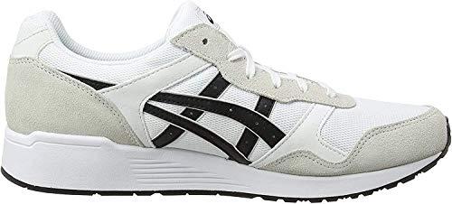 Asics Lyte-Trainer, Zapatillas Hombre, Blanco (White/Black 0190), 42 EU