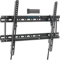 Perlesmith Low Profile Tilt Mount for Most 37-82 Inch Flat Screen TVs