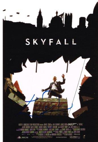 Skyfall - John Logan firmada AFTAL COA