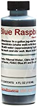 Blue Raspberry Shaved Ice and Snow Cone Flavor Concentrate 4 Fl Ounce Size