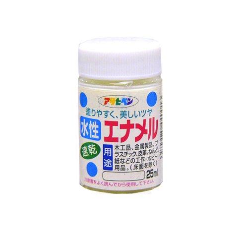 アサヒペン 水性エナメル 速乾 こげ茶25ml