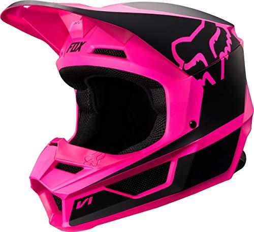 Fox Helmet Junior V-1 Przm Black/Pink Ys