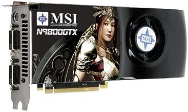 MSI N9800GTX-T2D512 OC GeForce 9800 GTX 512MB 256-bit GDDR3 PCI Express 2.0 x16 HDCP Ready SLI Supported Video Card - Retail