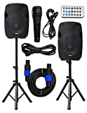 2x Ignite Pro 12' Pro Series Speaker DJ / PA System / Bluetooth Connectivity 2000W (12')