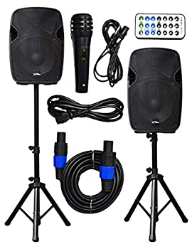 2x Ignite Pro 12  Pro Series Speaker DJ / PA System / Bluetooth Connectivity 2000W  12