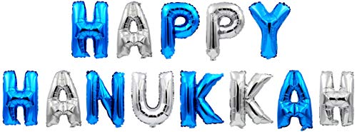 Hanukkah Decoration - Hanukkah Balloons - Chanukah Party Balloons